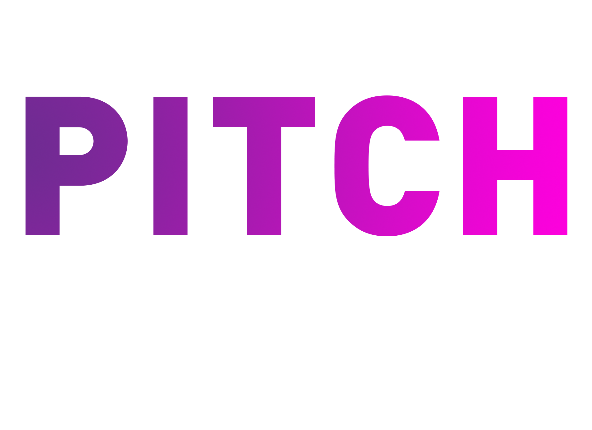 Pitch for change